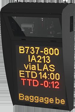 Safedock Ramp Information Display System Rids Adb Safegate