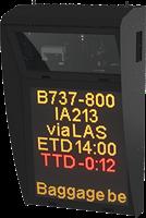 Système d'affichage d'informations de stationnement Safedock (RIDS)